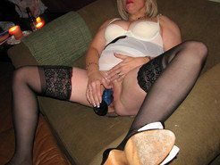 These older ladies use a huge Dildo and a...