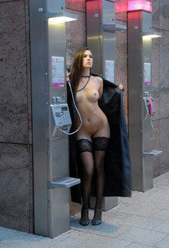 Pussy flashing naked shopping upskirts...
