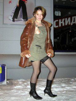 Harsh young girlfriend from Siberia naked...