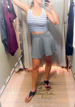 Hot selfies in the dressing room