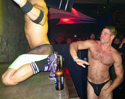 Hot gay strips, GoGo dances