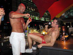 Hot stripper lets suck by his cock
