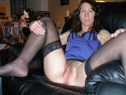 Horny housewives hairy twats