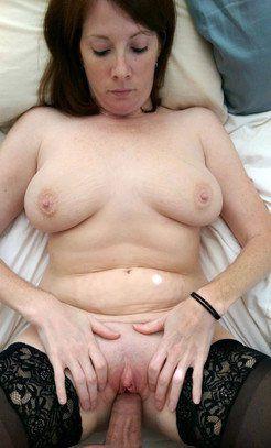 She having that second massive load shot...