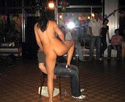 Real striptease hidden camera, private lap...