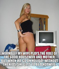 the good housewife, mother and hotwife