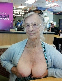 Grannies and moms with big boobs