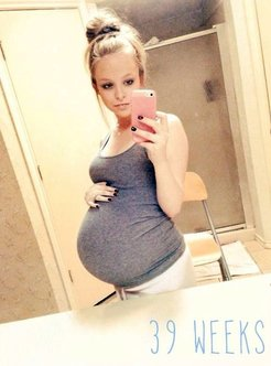 pregnant young wives compilation nude selfie.