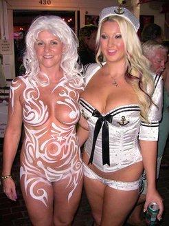 Naked carnival 'Oktoberfest'