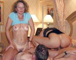 Cuckold wife mmf threesome
