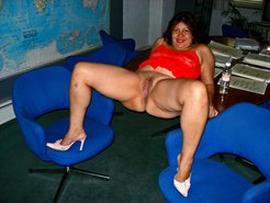 mature mexican whore in the office