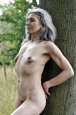 Flabby and freaky grannies almost nude