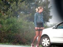 Street hookers photo collection