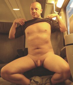 male exhibitionist proud to be exposed