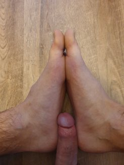 My Cock between My Feet