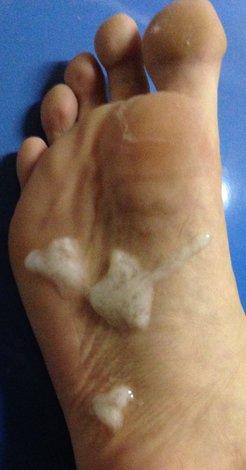 Feet with Cum -v2