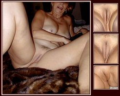 MATURE and GRANNIES with SHAVED twat