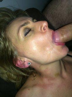 CAroline Polish mature oral slut