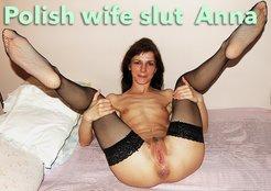 Anna Polish wife slut outdoor