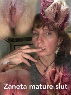 Zan 45 Polish slum hairy slut