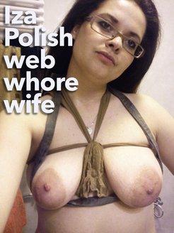Iza Polish hairy wife slut