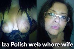 Iza Polish hairy wife slut 2