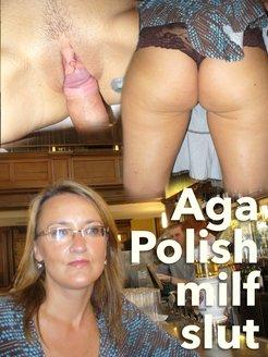 Aga 37 yo Polish slim slut