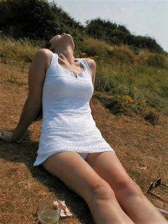 White dress tease -v2